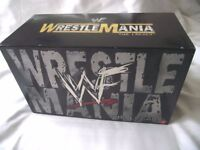 WRESTLEMANIA LEGACY BOX SET - WWE / WWF - 1 TO 15