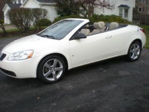 Pontiac G6 décapotable toit rigide 2007