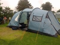 Vango Tigris 600 Tent with footprint and carpet