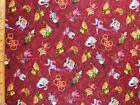 Red Rooster By the Yard Holiday/Christmas Craft Fabrics