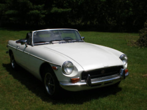 MGB 1972 - chrome bumpers