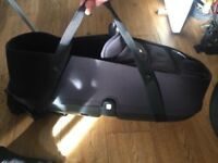 Bugaboo Bee 3/5 Carry Cot Black for Baby