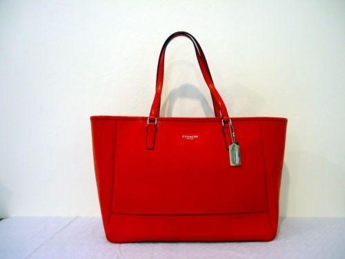 New Red Coach Handbags Ebay