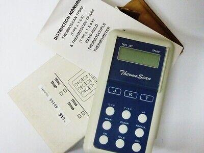 Eutech Tp500 Type Jkt Thermocouple Meter Ectp500