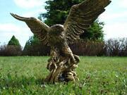 Gartenfigur Adler