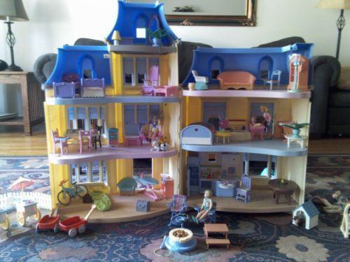 Used Fisher Price Doll House Ebay