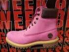 Timberland Pink Boots for Men