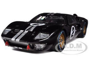 1966 ford gt 40 mk 2 2 black 118 diecast model car