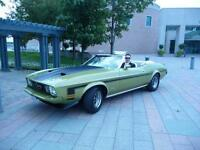 1973 MUSTANG CONVERTIBLE only 37000 miles UNRESTORED