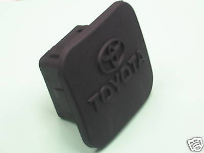 Toyota Black Hitch - TOYOTA FACTORY BLACK RUBBER HITCH COVER FOR 2 INCH RECEIVER PT228-35960-HP