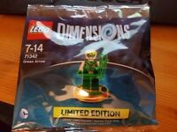 LEGO Dimensions Green Arrow Limited Edition Sealed