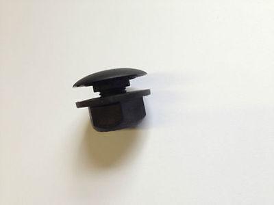 36mm Blanking / Rear Wiper Delete Plug in Black