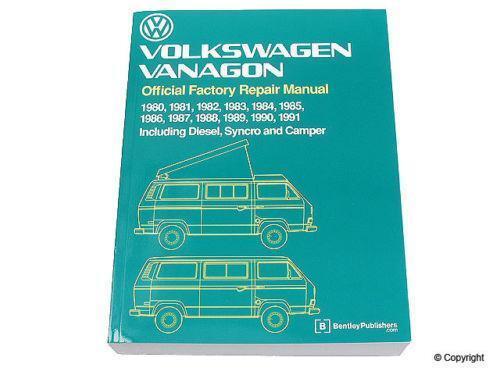 vanagon repair manual