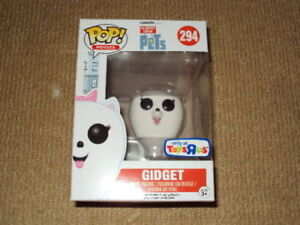 FUNKO POP FLOCKED GIDGET VAULTED TOYS'R'US EXCLUSIVE FIGURE