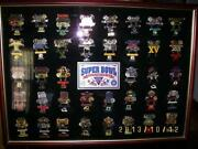 Super Bowl Pin Set