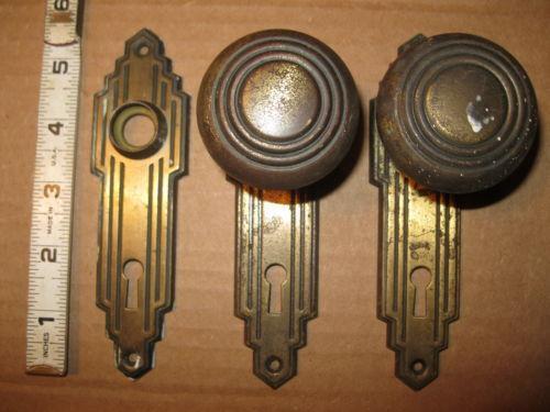 Art Deco Door Handles Ebay