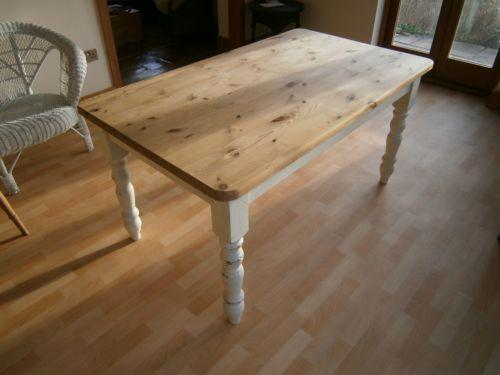 reclaimed dining table ebay