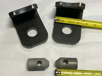 John Deere 12  Quick Attach Weld Bracket 200 300 400 500 Loader Hooks Pins