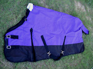 HORSE Turnout WINTER BLANKET 1200D Purple 76