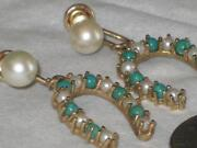 Vintage 14k Pearl Earrings