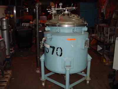 55 GALLON 304 STAINLESS STEEL JACKETED REACTOR