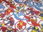 Marvel Superhero Fabric