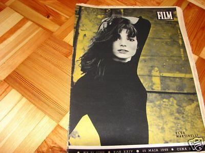 Elsa Martinelli front cover Polish mag FILM 1969 segunda mano  Embacar hacia Argentina