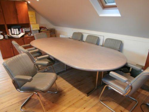 Boardroom Table Chairs EBay - Ebay conference table