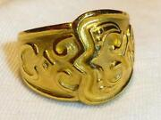Mens 24K Solid Gold Ring