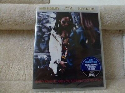 Lenny Kravitz   Are You Gonna Go My Way  Blu Ray Audio   New