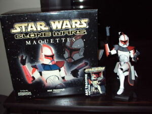 GENTLE GIANT STAR WARS, CLONE WARS ARC TROOPER MAQUETTE
