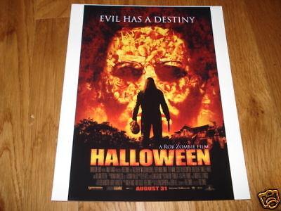 Halloween Rob Zombie Promo 8x10 photo color movie