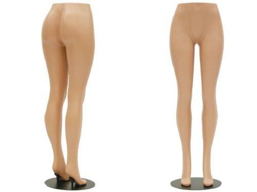 BRAZILIAN LEG FORM FEMALE MANNEQUIN HEAVY DUTY PLASTIC BIG BOOTY FREE SHIPPING