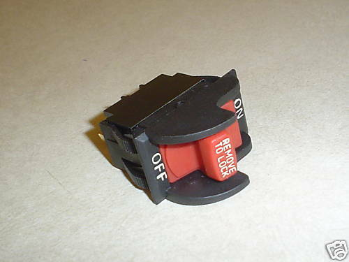Delta switch fits 106 different machines, see list