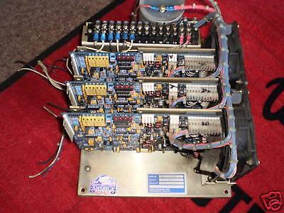 Servo Dynamics Sdf-1525-12 3 Amp Module System Complete