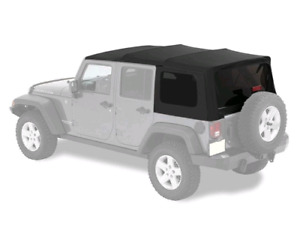 2014 Jeep Wrangler Sahara Unlimited 4 Dr Factory Soft Top w/kit