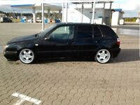 RH cup deep dish alloy wheels, 9J, Vw Seat, Bmw e30, etc