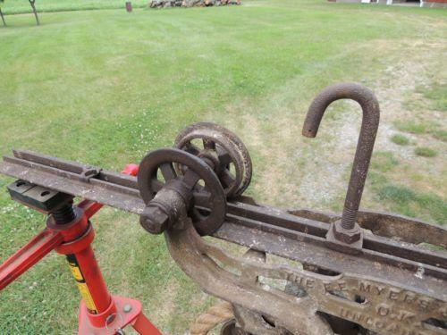Myers Hay Trolley Pulleys Block Amp Tackle Ebay