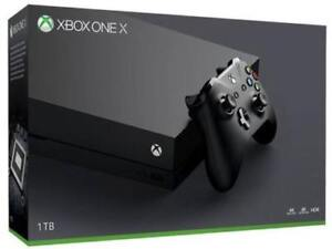Xbox One X 1TB Console - New Factory Sealed  Brand New