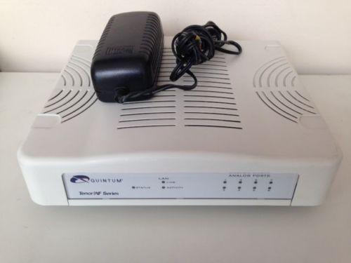 Quintum AFM400 4FXS + 4FXO VoIP Gateway *** FREE SHIP ***