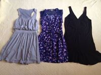 Women's small bundle of summer dresses, size S, great condition, summer holiday