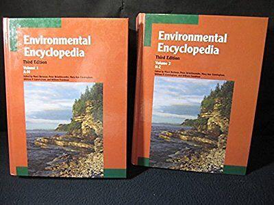 Environmental Encyclopedia 2 Vol  Set By Gale Group