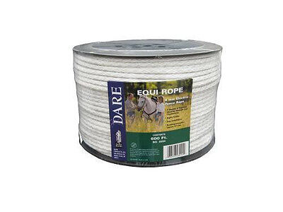 Usa Dare White Equi-rope Electric Horse Fence Braid 600ft Stronger Than Others