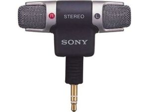 SONY ECM-DS70P Electret Condenser Stereo Microphone