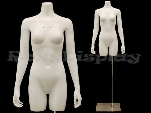 Female Invisible Ghost Mannequin Manikin Torso Form #MD-TFW-IV