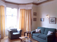 Large Edinburgh flat in Marchmont, sleeps 6, children welcome, study, ideal for work or holiday