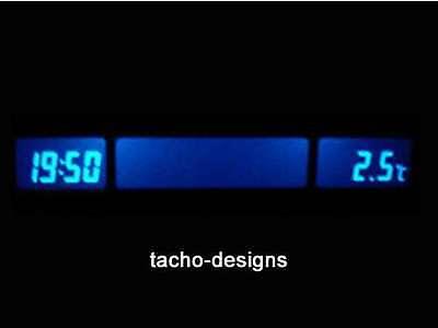 Blaues MID/TID-Display OPEL Astra F - Corsa/Combo B - Tigra online kaufen