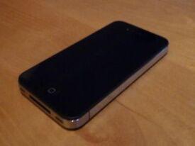 apple iphone 4s black 32gig gb old ios 6.0.1 o2 02 giff gaff tesco or can unlocked unlock