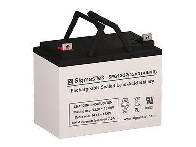 Best Battery SLA12350 Replacement Battery By SigmasTek - GEL 12V 32AH
