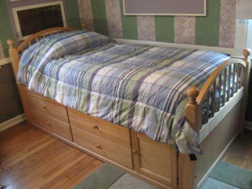 Maple Twin Bed Ebay